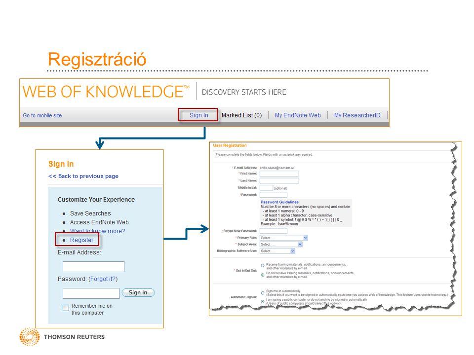 EndNote Web 5 Összes referencia Csoportokba rendezés Referenciák gyűjtése: • Online keresés • Manuális • Import Rendszerezés: Csoportok megosztása Csoportok törlése Duplumok Formázás: Bibliográfia létrehozása CWYW Export