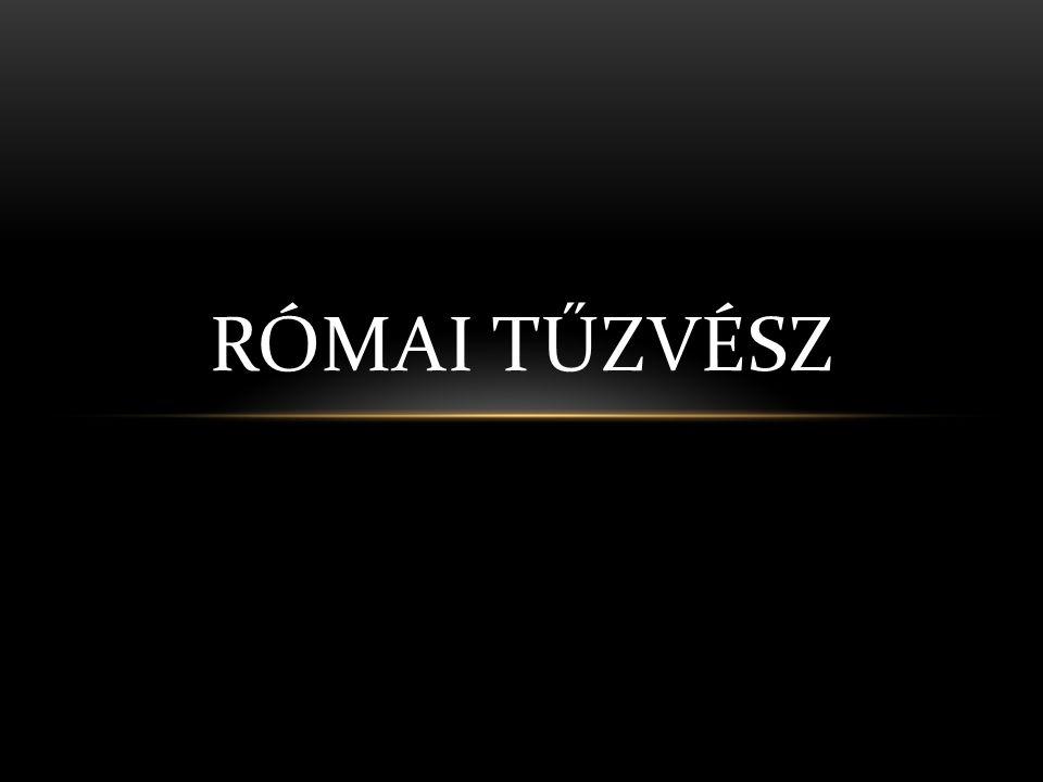 RÓMAI TŰZVÉSZ