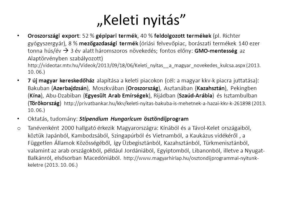 Magyar-német kapcsolatok A német befektetés összértéke Magyarországon: 12 Mrd Euro.