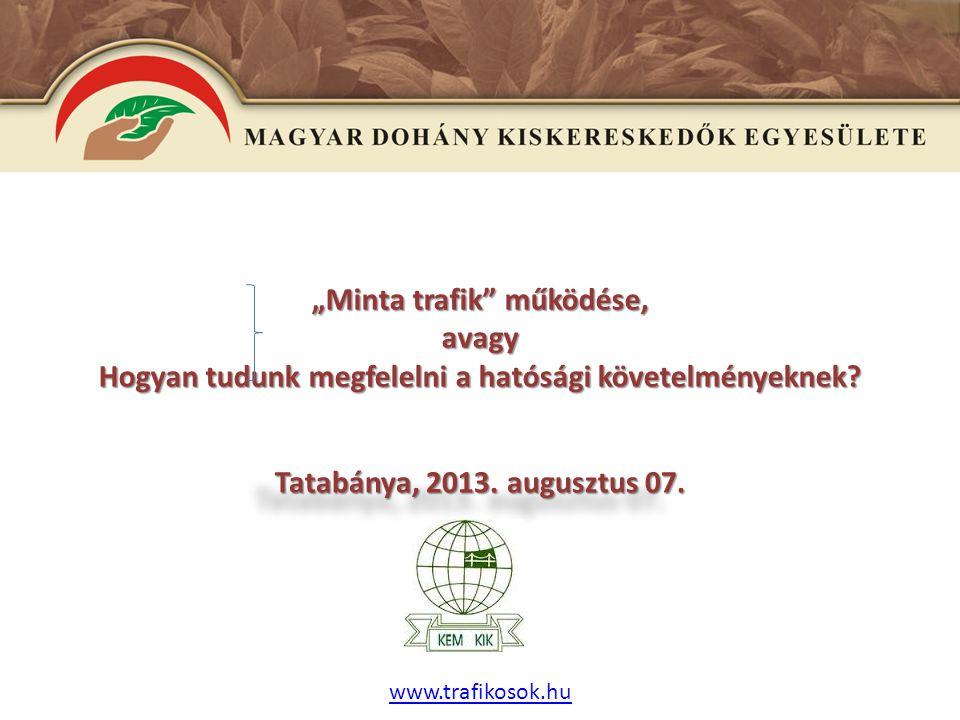 E www.trafikosok.hu 1.