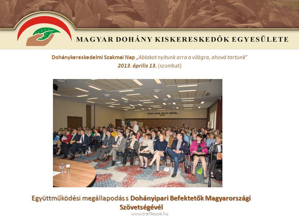 www.trafikosok.hu 2013.Május 13. Régi trafikosok felmérése, érdekvédelem, NDN Zrt.