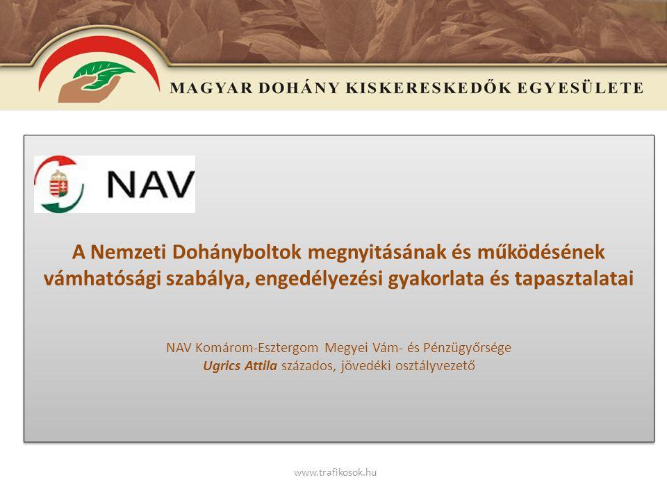 E www.trafikosok.hu A fiatalkorúak védelmét szolgáló jogszabályok, a rendelkezések betartásának ellenőrzése dr.