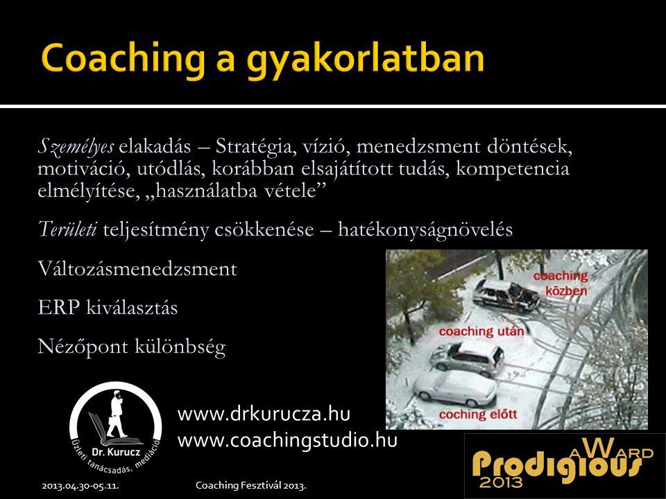 Hivatalos programoldal: http://www.iloveschool.hu /hirek/666-coaching-fezstival-2013.html www.