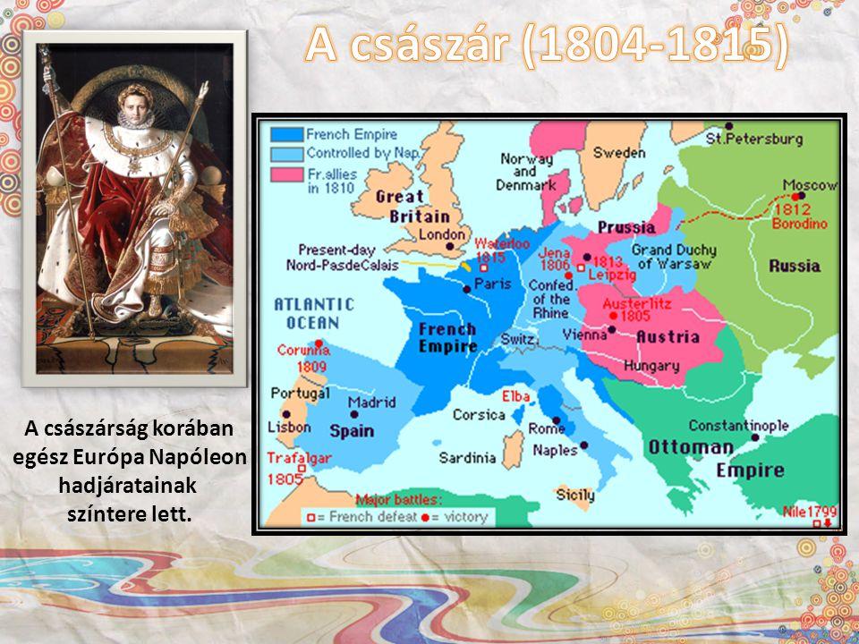 A császárság korában egész Európa Napóleon hadjáratainak színtere lett.