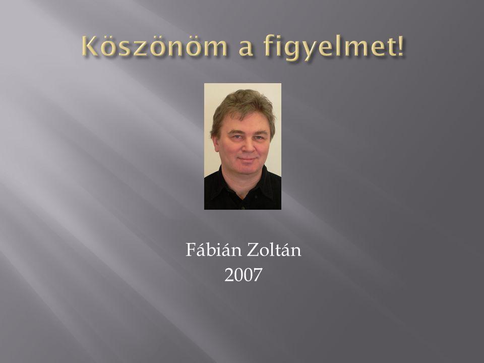 Fábián Zoltán 2007