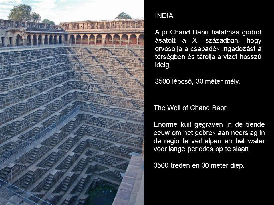 The Well of Chand Baori.