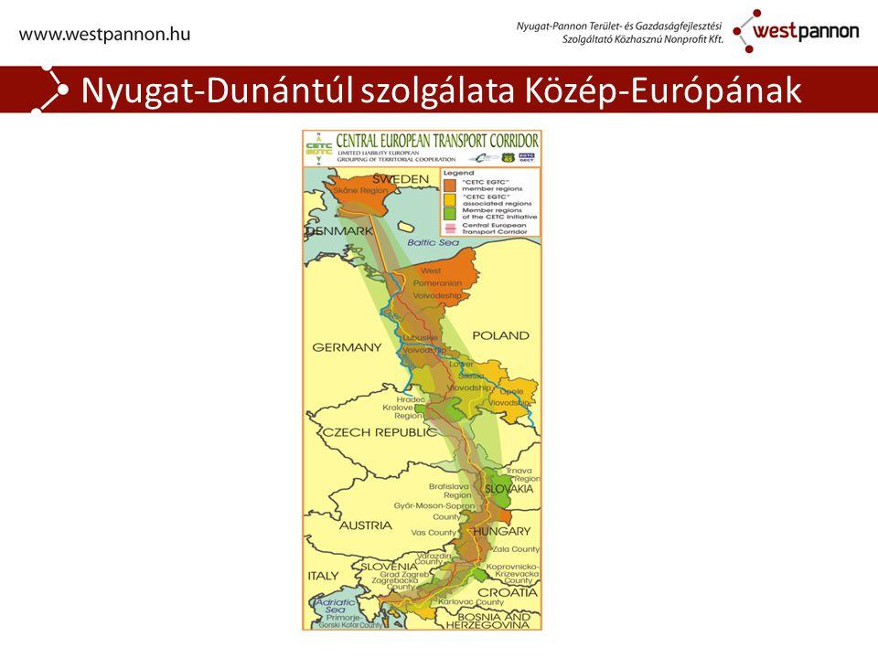 Nyugat-Dunántúl szolgálata Közép-Európának