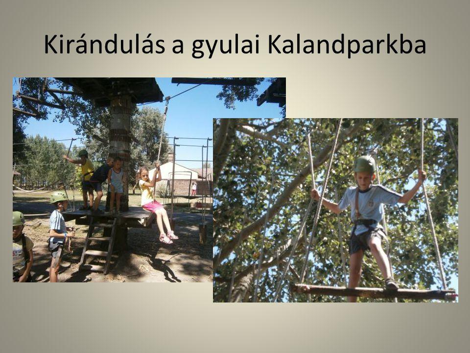 Kirándulás a gyulai Kalandparkba