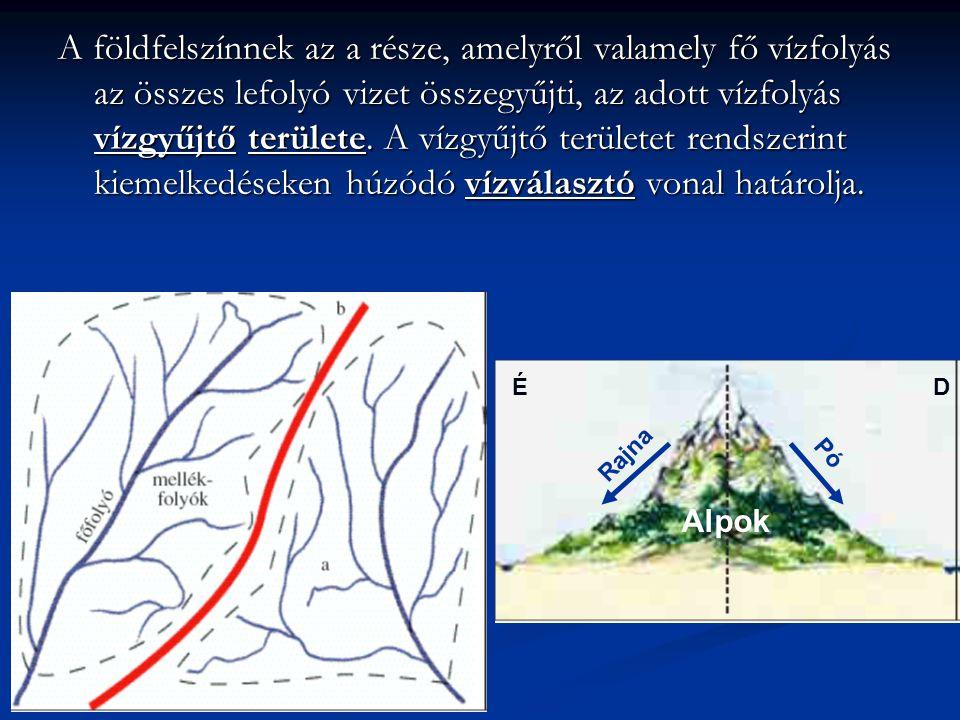 A földfelszínnek az a része, amelyről valamely fő vízfolyás az összes lefolyó vizet összegyűjti, az adott vízfolyás vízgyűjtő területe. A vízgyűjtő te