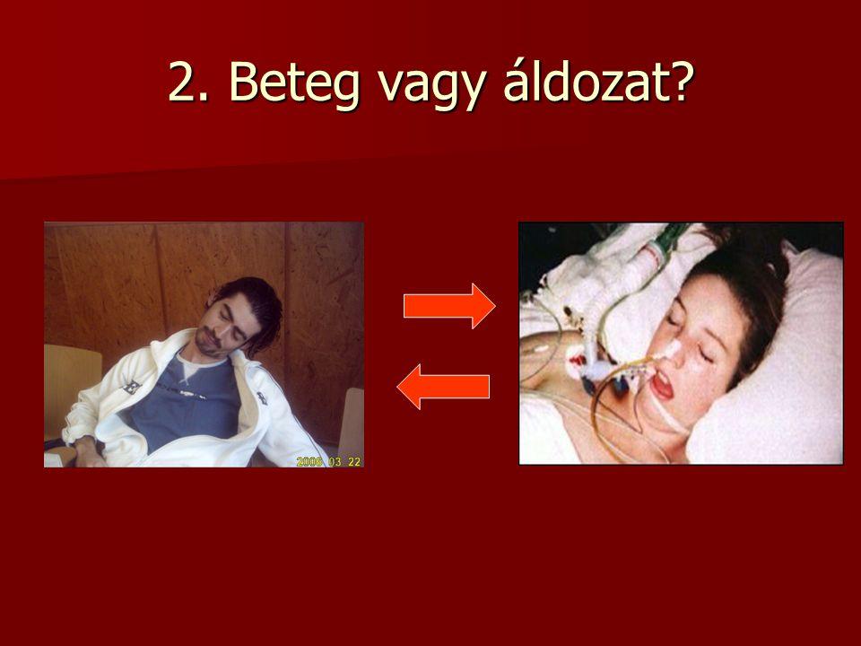 2. Beteg vagy áldozat?