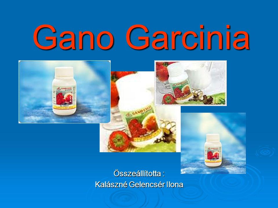 Az ideális testért: Gano Garcinia A termék két trópusi gyümölcs keverékét: A termék két trópusi gyümölcs keverékét: Garcinia Atroviridis és Tamarindus Indica, Garcinia Atroviridis és Tamarindus Indica, valamint a Ganoderma gomba kivonatát tartalmazza.