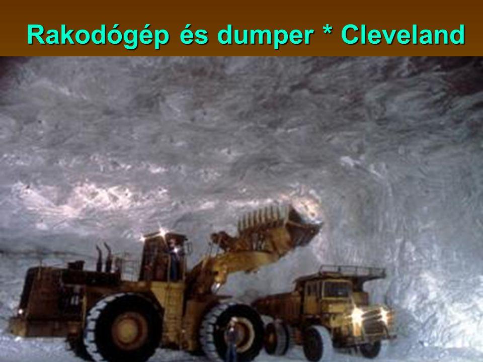 Rakodógép és dumper * Cleveland