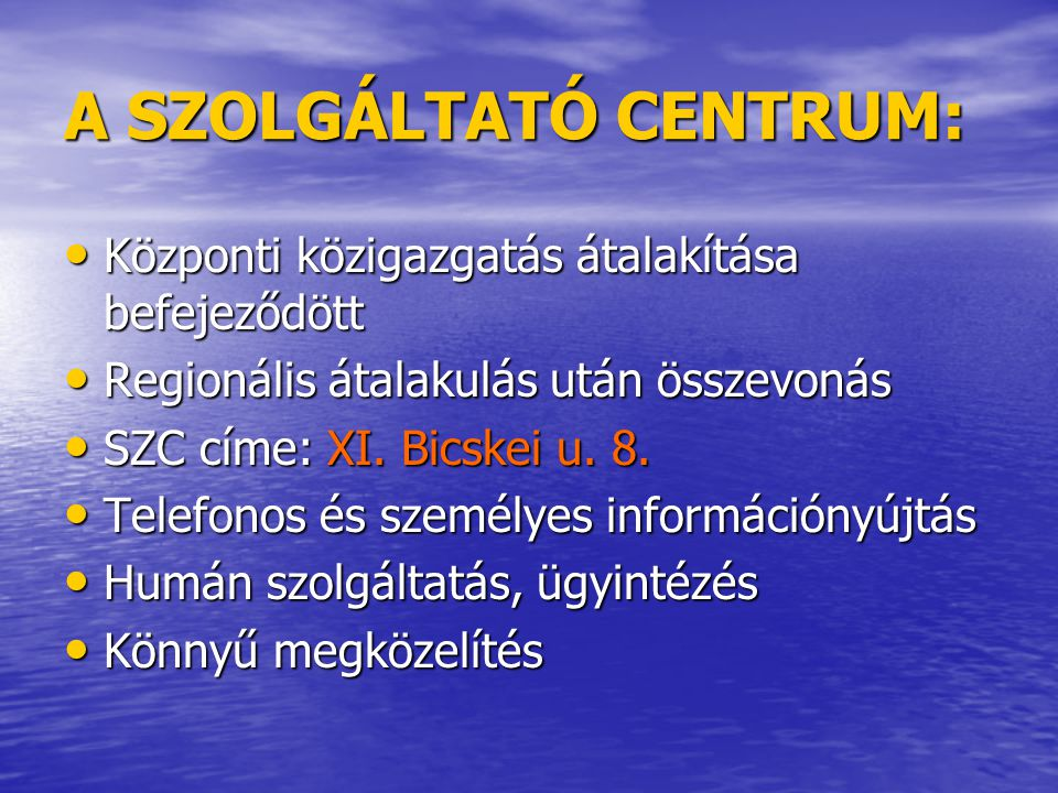 2007.évben bejelentett létszámleépítések: • Központi közig.