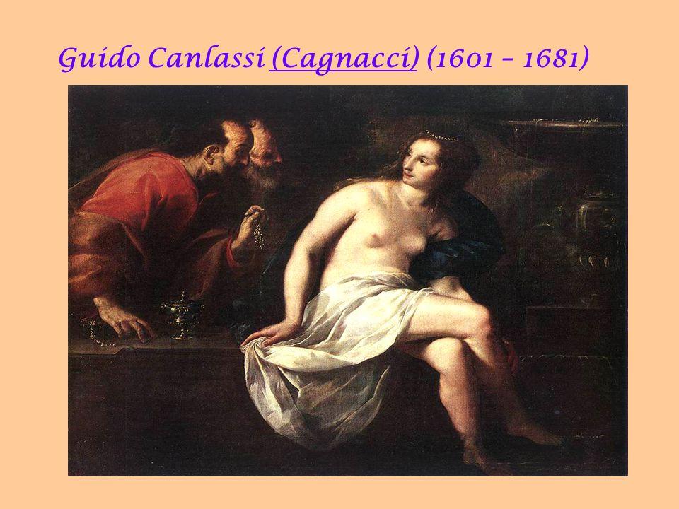 Guido Canlassi (Cagnacci) (1601 – 1681) 