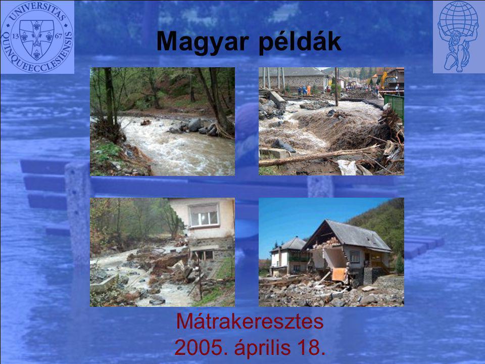 Magyar példák Mátrakeresztes 2005. április 18.