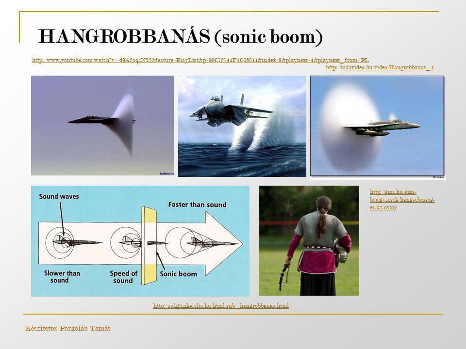 HANGROBBANÁS (sonic boom) Készítette: Porkoláb Tamás http://www.youtube.com/watch?v=-d9A2oq1N38&feature=PlayList&p=90C72741F4C65811&index=9&playnext=4