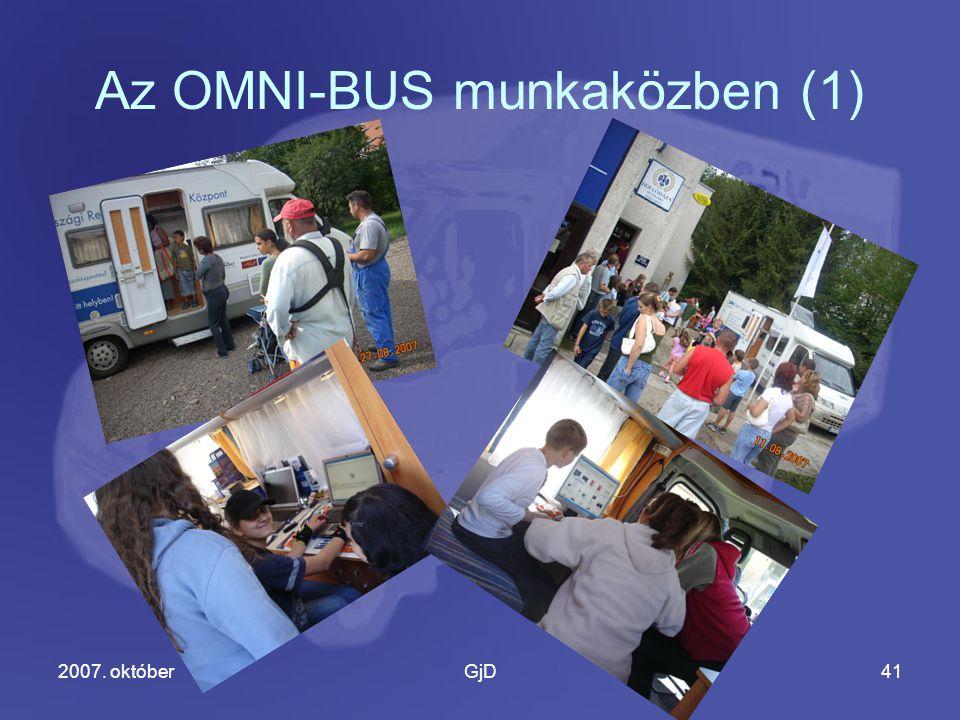2007. októberGjD41 Az OMNI-BUS munkaközben (1)