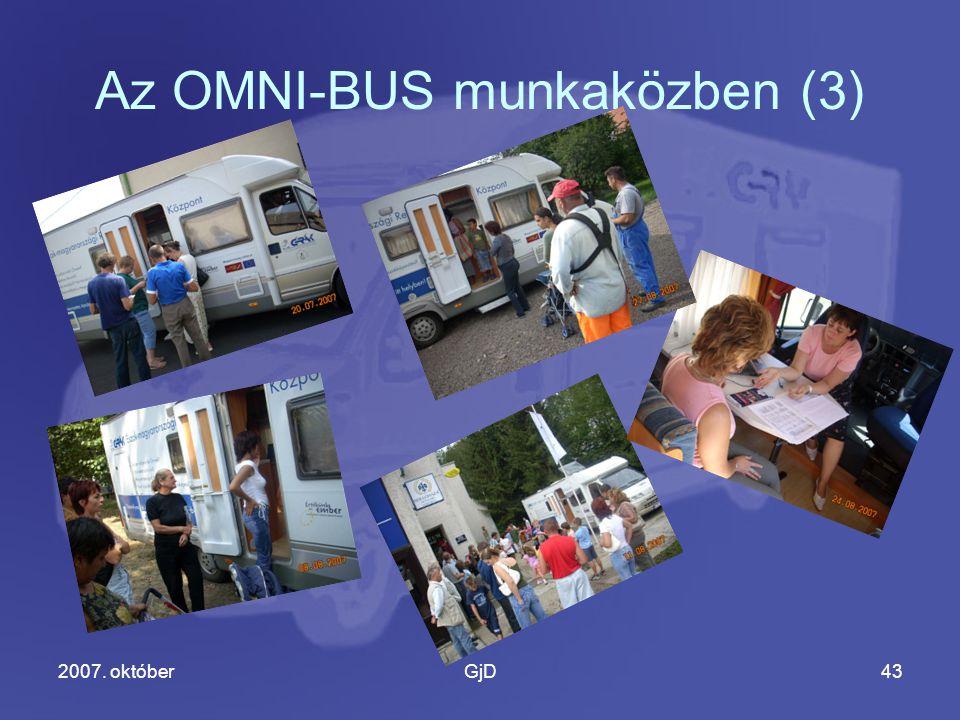 2007. októberGjD43 Az OMNI-BUS munkaközben (3)