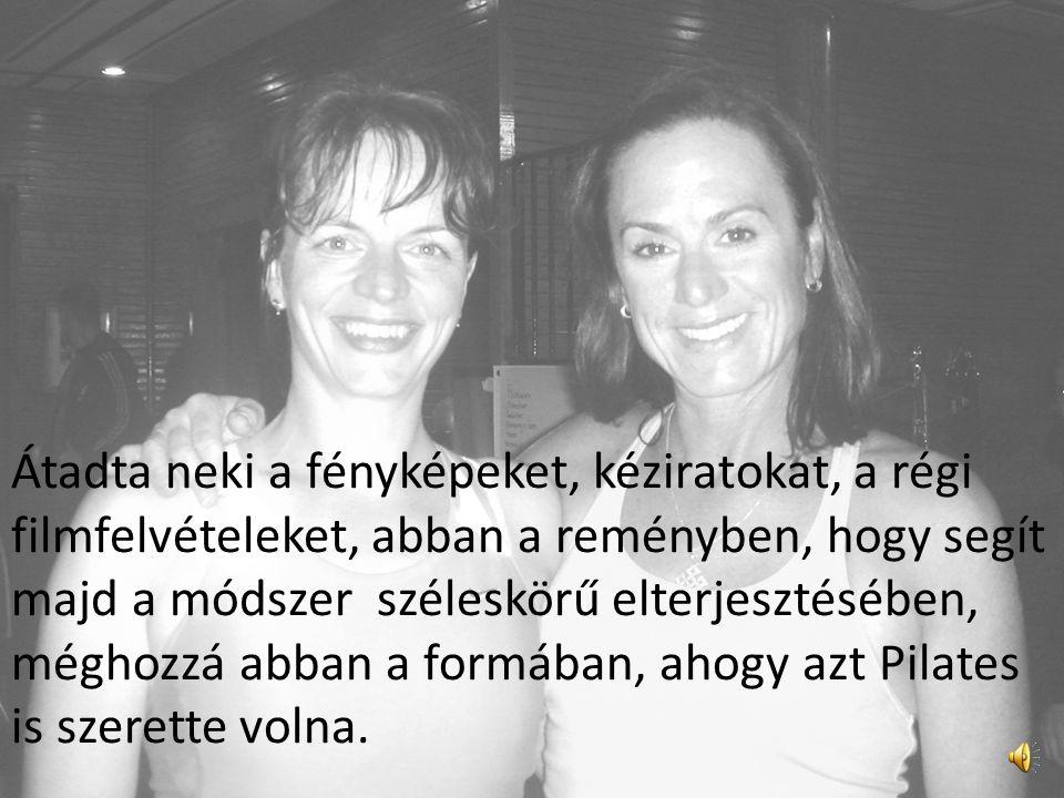 Ekkor kezdődött életre szóló barátságuk. Amikor 1968-ban Pilates meghalt, felesége, Clara Pilates, felkérte Romanat, hogy vigye tovább a hagyományt és