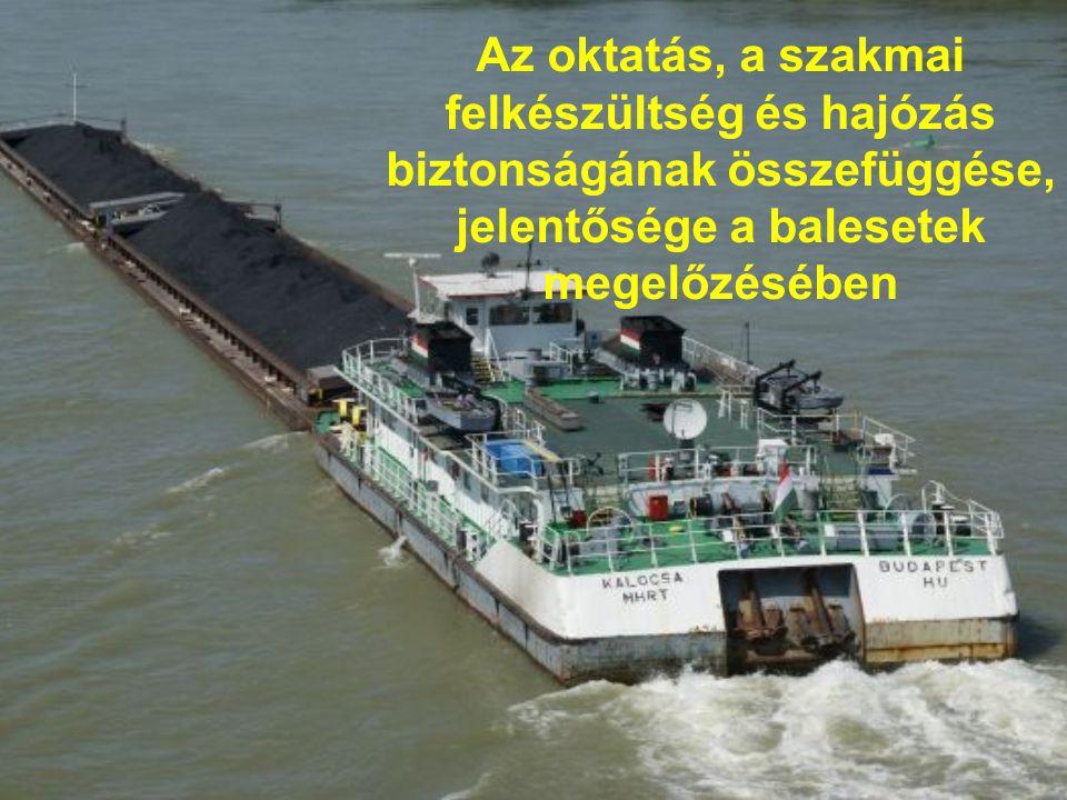 Az oktatás, a szakmai felkészültség és hajózás biztonságának összefüggése, jelentősége a balesetek megelőzésében