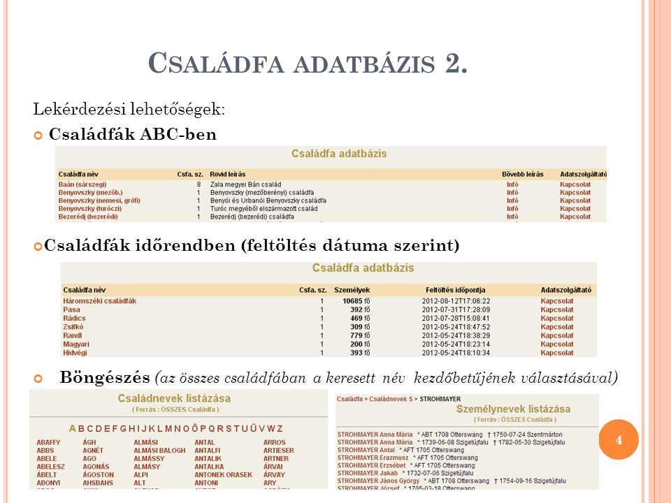 OSZK - G YÁSZJELENTÉSEK ADATBÁZISA 2.