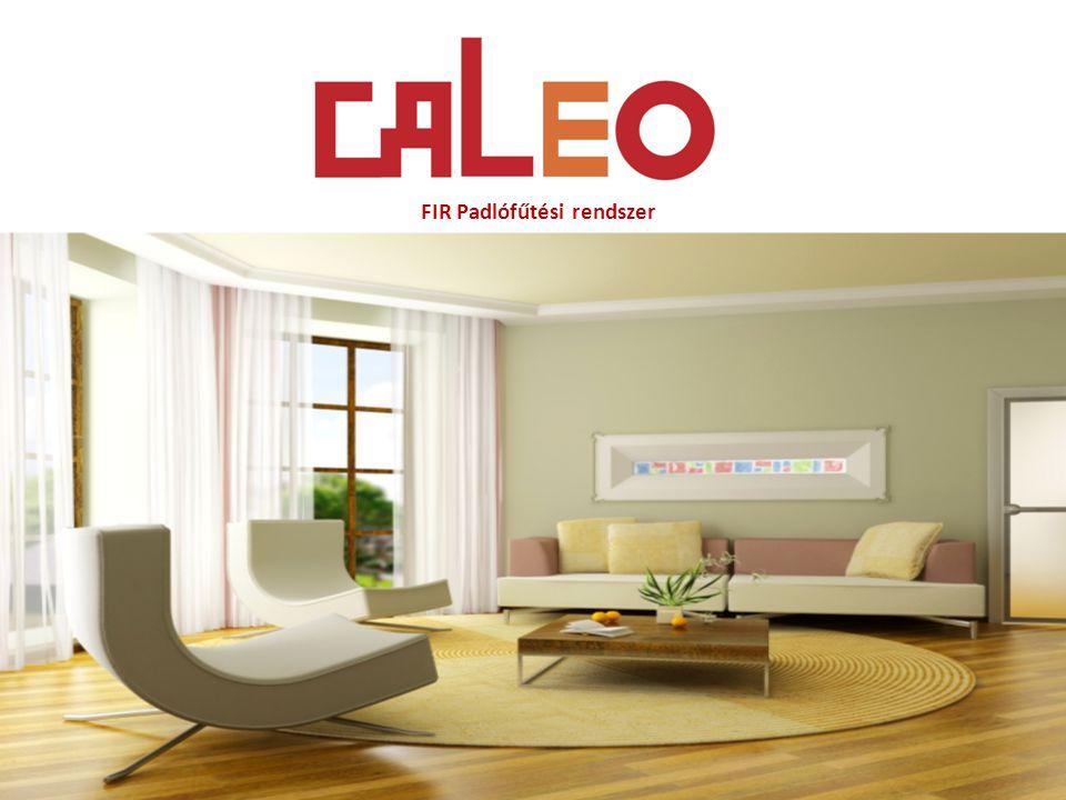 1.2 A CALEO fűtőfilm szerkezeti felépítése 6-8.