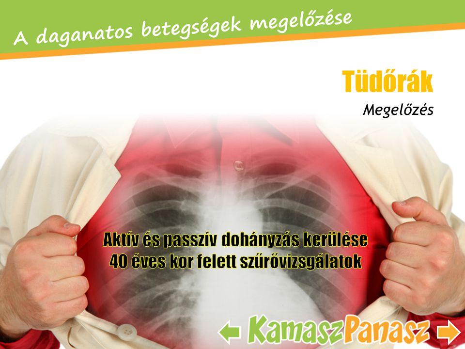 Megelőzés Tüdőrák