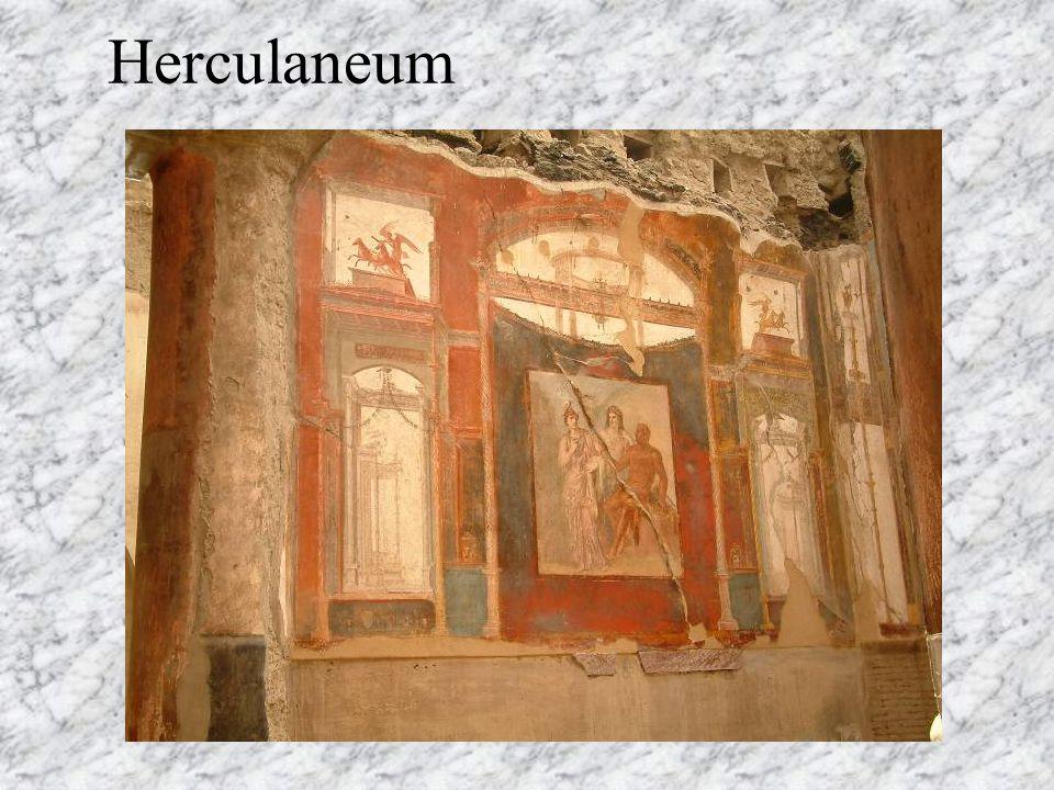 I. e. II. századi görög eredeti nyomán készült freskó a herculáneumi bazilika falát díszítette.