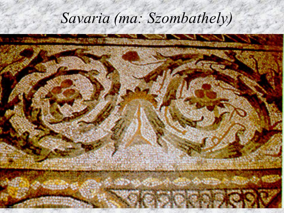 Aquincumi mozaik (részlet)