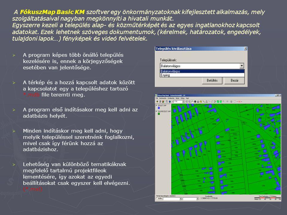 Az egész rendszer egy alapszoftverre épül, mely a FókuszMap Basic nevet kapta. Erre az alapra épülnek rá az egyes speciális igények szerint kialakítot