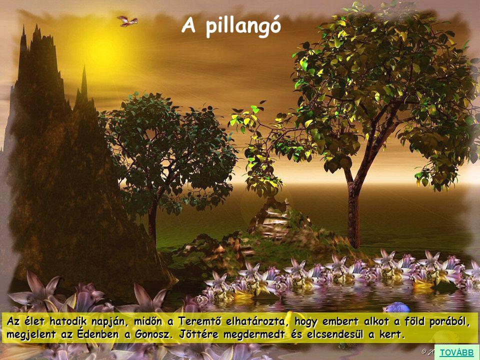 Az élet hatodik napján, midőn a Teremtő elhatározta, hogy embert alkot a föld porából, megjelent az Édenben a Gonosz. Jöttére megdermedt és elcsendesü