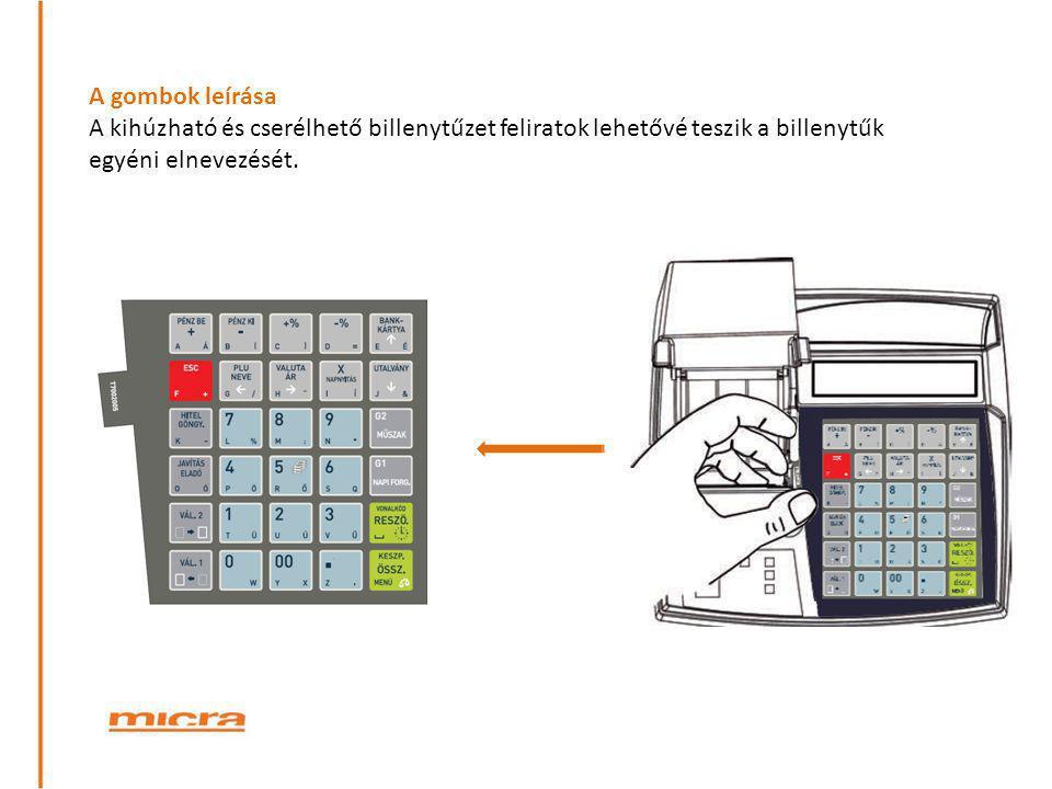 Papírszalag csere Papírszélesség/hossz: 57 mm/ 40 méter Az easy load rendszernek köszönhetően (betöltés, lezárás, nyomtatás) pillanatok alatt kicserélhető a papírtekercs.