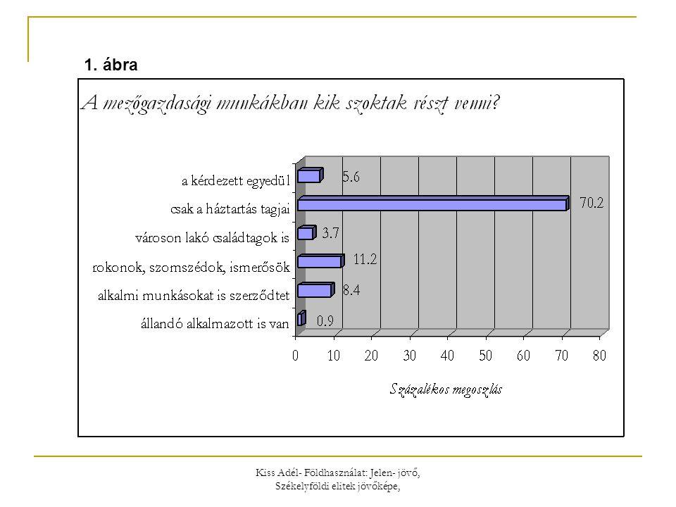 Kiss Adél- Földhasználat: Jelen- jövő, Székelyföldi elitek jövőképe, 1. ábra