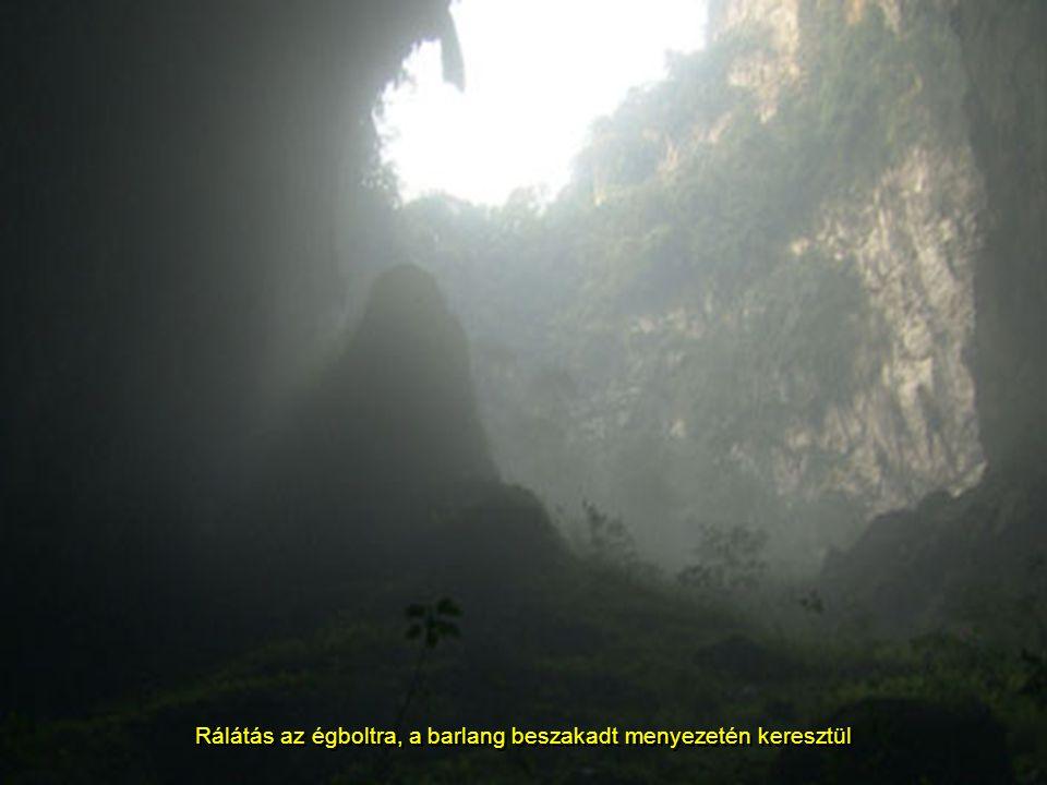 Az összefüggő kürtők hatalmas méreteit jól jelképezi a kép előterében (alig) látható ember alakja, mely egy felkiáltójel nagyságára emlékeztet