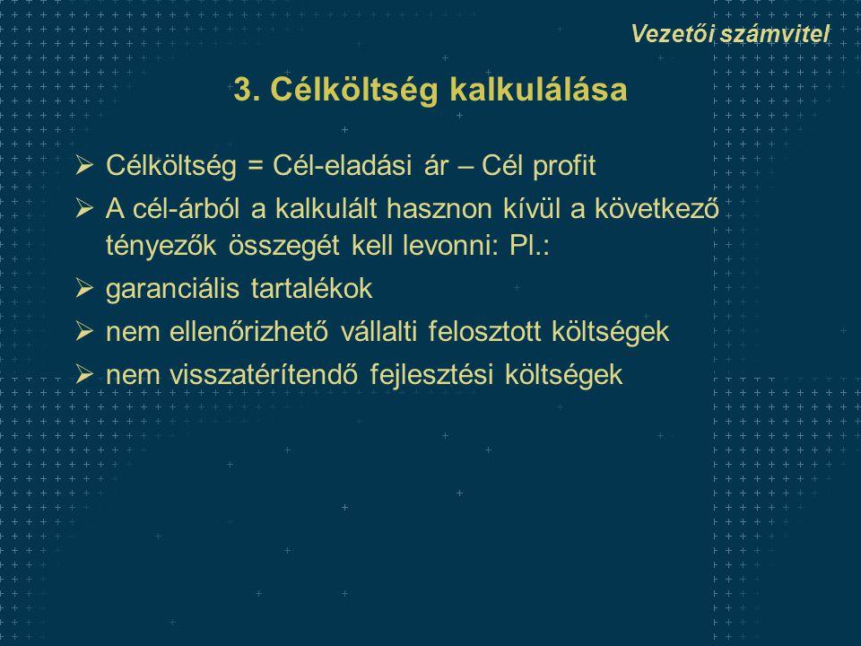Vezetői számvitel 3.