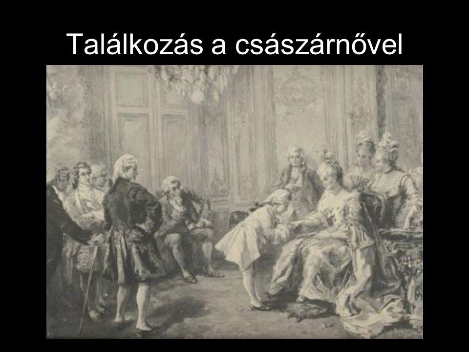 1781 •Idomeneo – opera •Gran Partita – szerenád •Bécsbe utazik a hercegérsekkel.