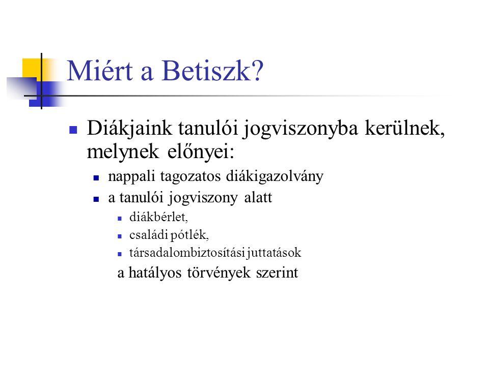 Miért a Betiszk.