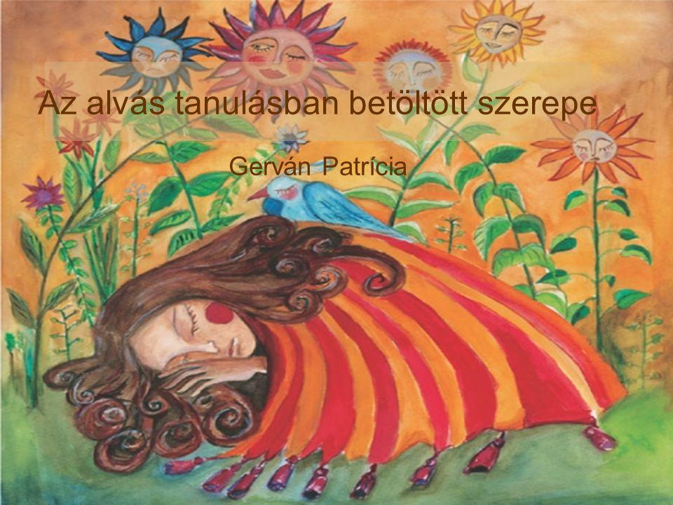 Gerván Patrícia Az alvás tanulásban betöltött szerepe