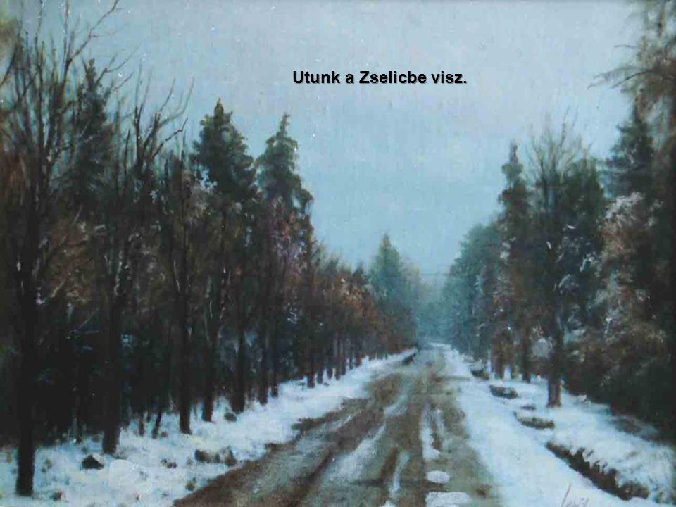 Jeges, havas, kemény tél tördeli a puszta fáit, bokrait. Lassan olvad.