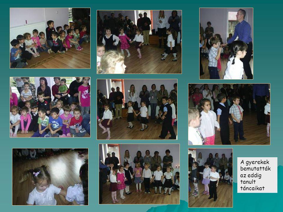 A gyerekek bemutatták az eddig tanult táncaikat