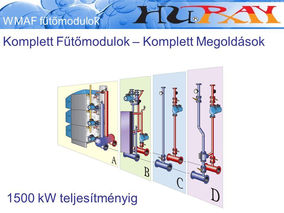 Komplett Fűtőmodulok – Komplett Megoldások WMAF fűtőmodulok 1500 kW teljesítményig