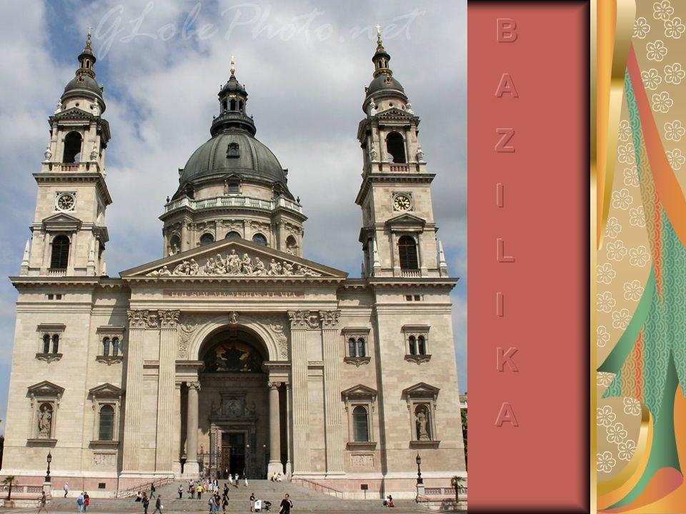 Szent István Bazilika A főváros legnagyobb (8500 főt befogadó) templomát 60 év alatt építették fel, az 1800- as évek közepétől kezdve.