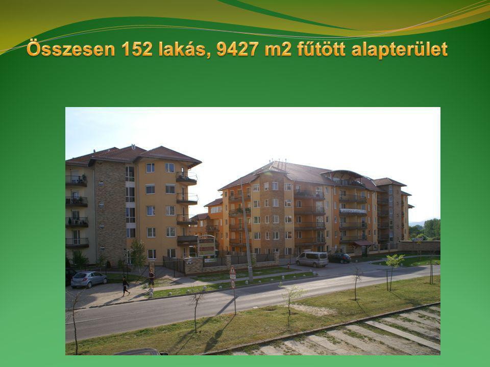 75 + 77 lakásos társasház geotermikus hűtéssel és fűtéssel