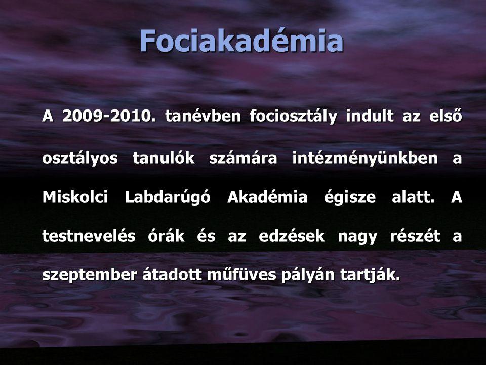 Fociakadémia A 2009-2010.