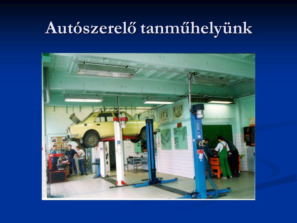 Autószerelő tanműhelyünk