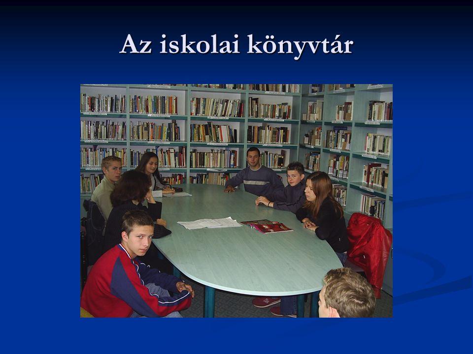 Az iskolai könyvtár
