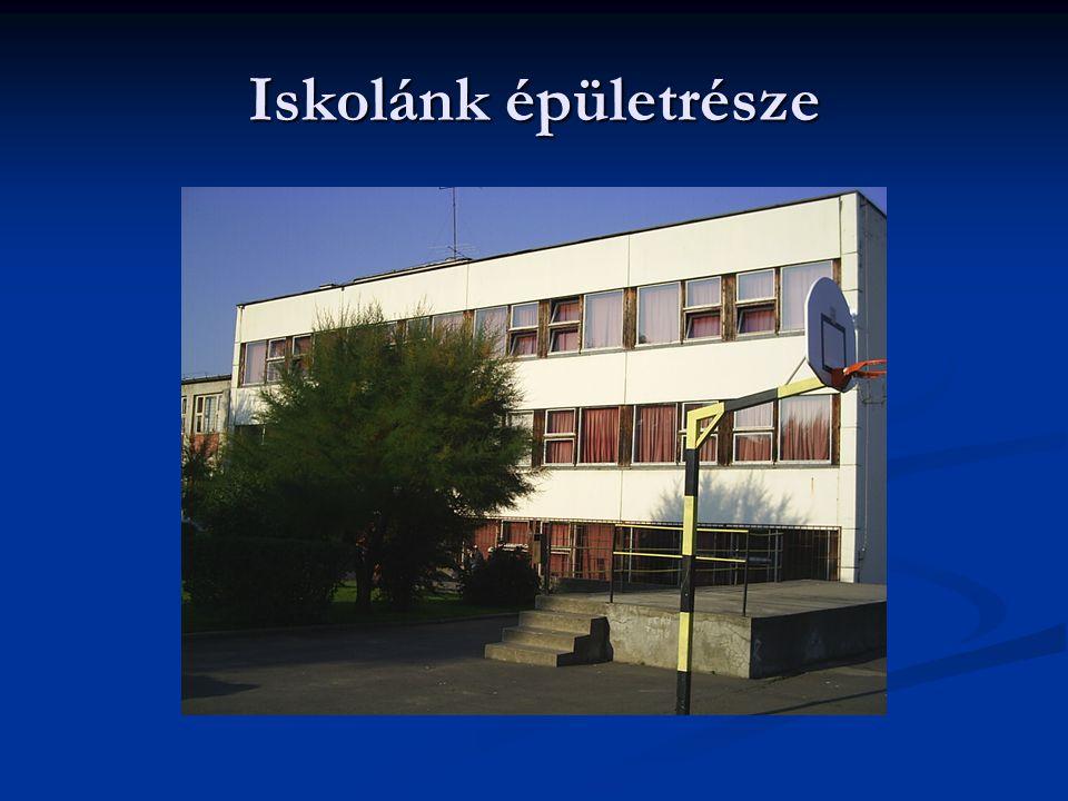 Iskolánk épületrésze