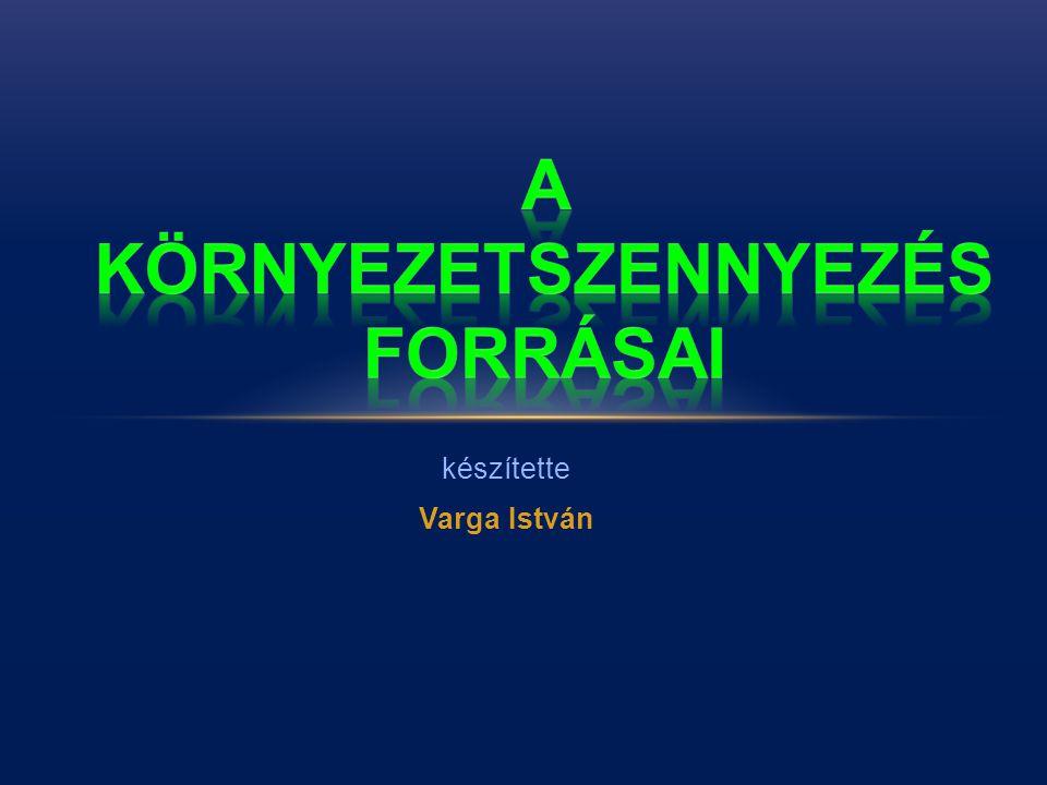 készítette Varga István