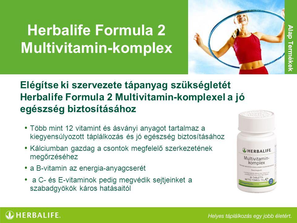 • Több mint 12 vitamint és ásványi anyagot tartalmaz a kiegyensúlyozott táplálkozás és jó egészség biztosításához • Kálciumban gazdag a csontok megfel