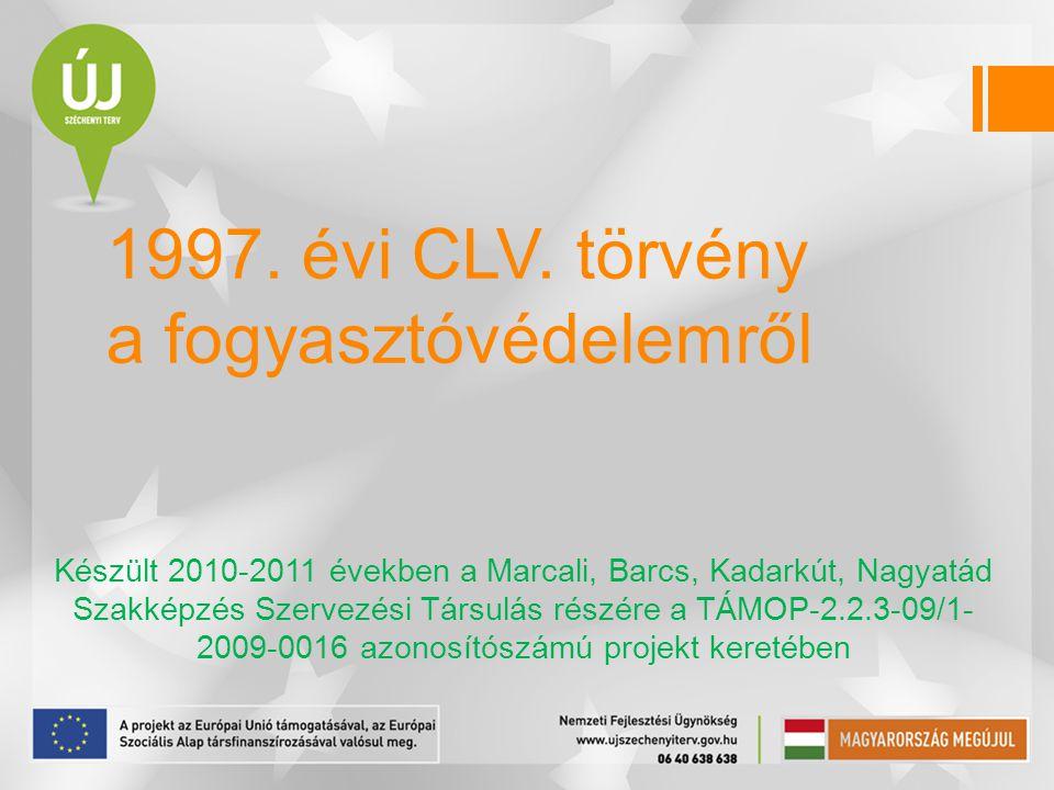 1997.évi CLV.